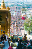 Thaipusam crowd Stock Photography