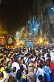 Thaipusam Festival 2012: In der Höhle Stockfoto