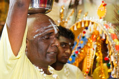Thaipusam Festival 2012: Devote in trance Stock Images