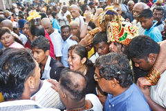 Thaipusam Festival 2012: Total Devotion Pilgrim Stock Images