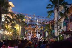 Thaipusam-Festival in Georgetown, Penang, Malaysia Lizenzfreie Stockfotografie