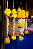 Thaipusam flowers stalk. Hindu decorative flowers used during thaipusam in penang Royalty Free Stock Photo