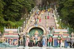 Thaipusam hindu festival Royalty Free Stock Photo