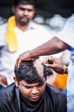 Thaipusam. Is a Hindu festival celebrated mostly by the Tamil community on the full moon in the Tamil month of Thai (January/February). It is mainly observed in Royalty Free Stock Photo