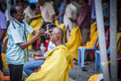 Thaipusam. Is a Hindu festival celebrated mostly by the Tamil community on the full moon in the Tamil month of Thai (January/February). It is mainly observed in Stock Photography