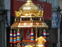 Thaipusam Penang Malaysia royaltyfri fotografi