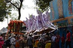 Thaipusam procession Fotografering för Bildbyråer