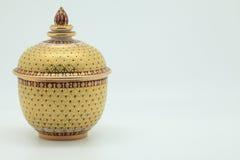 Thais aardewerk Royalty-vrije Stock Afbeelding