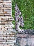 Thais architecturaal ornament royalty-vrije stock foto's