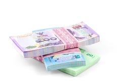 Thais Bahtgeld Royalty-vrije Stock Foto's