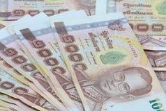 Thais Bankbiljet Royalty-vrije Stock Afbeelding