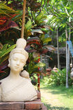 Thais boeddhistisch standbeeld Stock Afbeelding