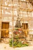 Thais Boeddhistisch tempelbehoud Royalty-vrije Stock Afbeelding