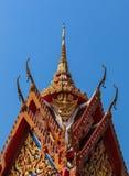 Thais boeddhistisch tempeldak Royalty-vrije Stock Fotografie