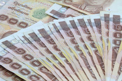 Thais Contant geld Royalty-vrije Stock Foto