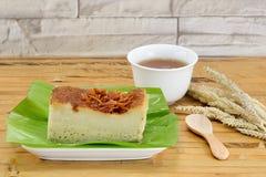 Thais Custsrd-Dessert Stock Foto's