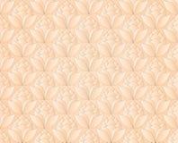 Thais de bloemen uitstekend patroon vector abstracte B van de pastelkleur roze lotusbloem Royalty-vrije Stock Fotografie
