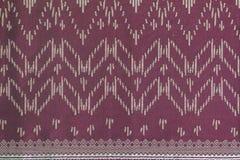Thais de doekpatroon van de stijlzijde Stock Fotografie