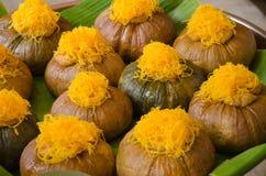 Thais dessert royalty-vrije stock afbeelding