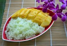 Thais dessert Stock Foto's