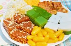 Thais dessert Stock Afbeelding