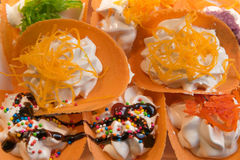 Thais dessert Stock Fotografie