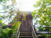 Thais deurhuis Royalty-vrije Stock Afbeeldingen