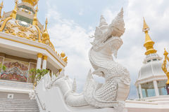 Thais draakstandbeeld Stock Foto's