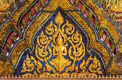 Thais engelenbeeldhouwwerk stock foto