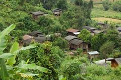 Thais etnisch dorp stock afbeeldingen
