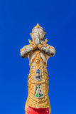 Thais godsstandbeeld Stock Afbeeldingen