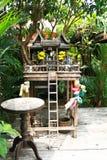 Thais heiligdom Royalty-vrije Stock Afbeelding