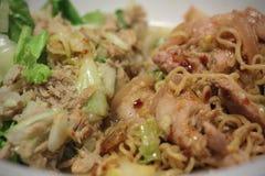 Thais Herb Instant Noodle Stock Afbeeldingen