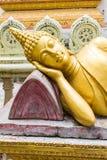 Thais het Doen leunen Boedha Standbeeld Royalty-vrije Stock Foto