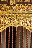 Thais het Snijden Art Royalty-vrije Stock Fotografie