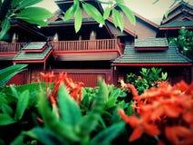 Thais Huis stock afbeeldingen