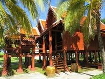 Thais Huis Royalty-vrije Stock Foto's