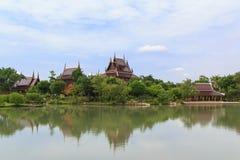 Thais Huis in het verleden Royalty-vrije Stock Foto's