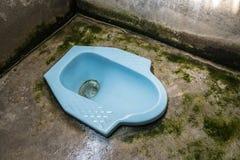 Thais hurkend toilet Royalty-vrije Stock Afbeeldingen