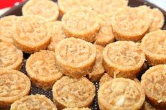Thais inheems oud dessert ook genoemd Kao. Stock Foto's