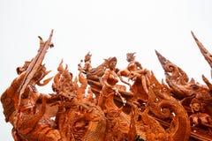 Thais kaarsfestival van Boedha Royalty-vrije Stock Afbeeldingen