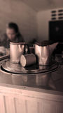 Thais koffiezetapparaat Stock Afbeelding