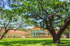 Thais koninklijk de zomerpaleis, Hua Hin, Thailand Royalty-vrije Stock Foto's