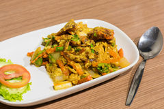 Thais krabvoedsel, Thais voedsel Royalty-vrije Stock Fotografie