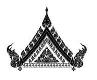 Thais kunstenbinnenland stock illustratie