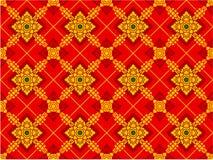 Thais kunstpatroon vector illustratie