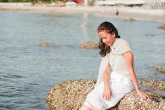 Thais Meisjesportret Stock Afbeeldingen