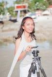 Thais Meisjesportret Stock Foto's