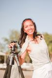 Thais Meisjesportret Royalty-vrije Stock Afbeelding