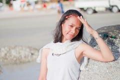 Thais Meisjesportret Royalty-vrije Stock Foto's